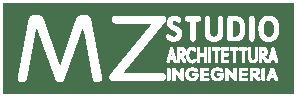 Logo MZ rett white